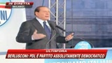 Berlusconi: vogliamo almeno un milione di tessere