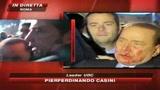Casini: Solidarietà al premier senza se e senza ma