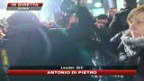 Di Pietro: menefreghismo governo porta a esasperazione