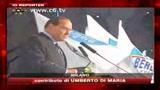 Aggressione Berlusconi, i commenti della folla