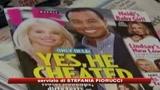 Dopo Natale il divorzio di Tiger Woods
