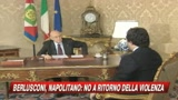 Napolitano: basta esasperazione politica pericolosa 