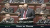 Bersani: Attenti ai finti pompieri