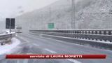 L'Italia nella morsa del gelo. Neve sulle autostrade