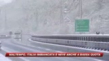 Maltempo in tutta Italia e Milano attende la prima neve