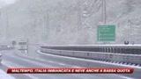 Maltempo in tutta Italia e Milano attende la prima neve