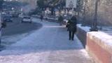 Centro Italia nella morsa del gelo