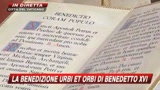25/12/2009 - La benedizione Urbi et Orbi di Benedetto XVI