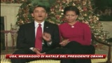 Auguri di buon Natale dalla famiglia Obama