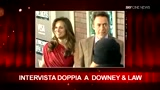 25/12/2009 - SKY Cine News: Intervista confidenziale a Robert Downey jr e Jude Law