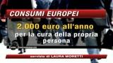 Europa Consumi, gli italiani amano scarpe e vestiti