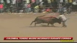 Corrida in Colombia: morto il torero 