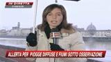 08/01/2010 - Meteo, nuova allerta piogge. Critica situazione Tevere