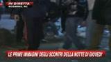 12/01/2010 - Le prime immagini degli scontri di Rosarno