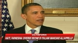 Obama: Recupererò i soldi dei contribuenti americani
