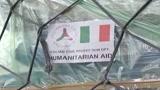 20/01/2010 - Haiti, imbarco del materiale sulla Cavour