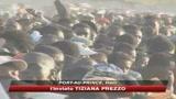 24/01/2010 - Scontri per il cibo, i caschi blu usano i lacrimogeni