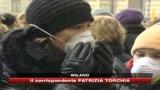 30/01/2010 - Milano, genitori e figli in piazza contro lo smog