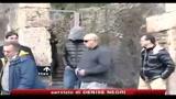 Di Caprio, visita lampo a Pompei