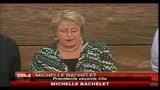 Cile, Michelle Bachelet: distribuzione gratuita di alimentari