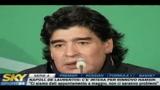 Maradona commenta la vittoria dell'Argentina