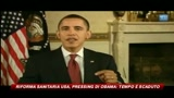 Riforma sanitaria USA, pressing di Obama: il tempo è scaduto