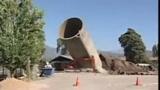 Cile, crolla silo dopo il terremoto, morto operaio