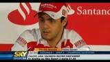 Felipe Massa parla del prossimo mondiale di Formua 1