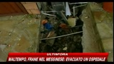 10/03/2010 - Maltempo, frane nel messinese: evacuato un ospedale
