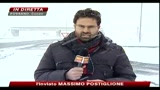 Maltempo e neve in Piemonte; disagi sulle strade