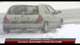 Maltempo e neve in Piemonte, disagi sulle strade