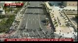 11/03/2010 - Grecia, le immagini della manifestazione in corso