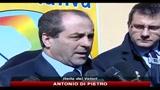14/03/2010 - Inchiesta Trani, Di PIetro, io un bersaglio di Berlusconi