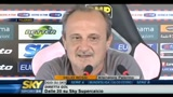 Delio Rossi, allenatore del Palermo parla dell'inter