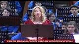 Valeria Marini, racconta fiabe all'Auditorium di Roma