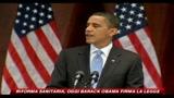 23/03/2010 - Riforma sanitaria, oggi Obama firma la legge