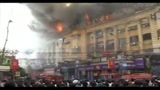 23/03/2010 - Incendio in un palazzo di Calcutta, almeno quattro morti