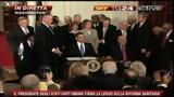 23/03/2010 - La firma di Obama per la legge sulla sanità (6/a parte)
