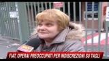 Fiat, operai preoccupati per indiscrezioni su tagli