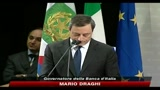 Mario Draghi ricorda l'economista Ezio Tarantelli