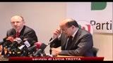 31/03/2010 - Bersani, governo indichi strada, pronti a riforme vere