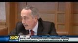 Intervento sulle intercettazioni di Giancarlo Abete, presidente FIGC