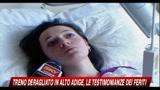 Treno deragliato in Alto Adige, le testimonianze dei feriti