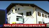Pedofilia, scritte oscene sulla casa natale del Papa