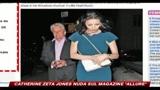 14/04/2010 - Catherine Zeta Jones nuda sul magazine Allure