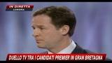 Gran Bretagna, duello tv - Prima domanda (2-2), Immigrazione