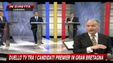 Gran Bretagna, duello tv - Settima domanda (1-2) - Sanit