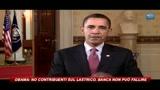 Obama no contribuenti sul lastrico, banca non può fallire