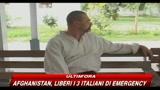 Afghanistan, liberi i 3 italiani di Emergency