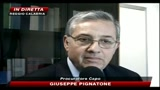 Parla il procuratore capo Giuseppe Pignatone